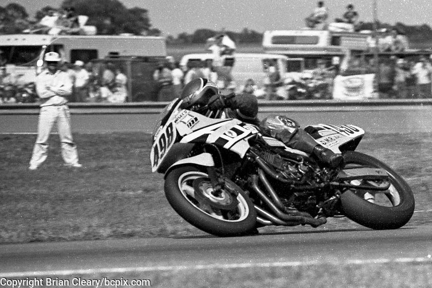 Steve Nardiello (#498 Yamaha), Daytona 200, Daytona International Speedway, March 8, 1987.  (Photo by Brian Cleary/bcpix.com)