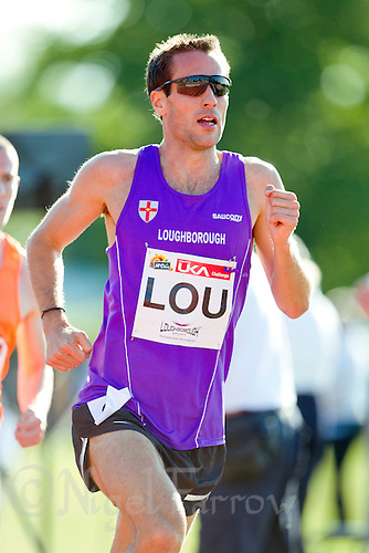 23 MAY 2010 - LOUGHBOROUGH, GBR - Ryan McLeod (Loughborough University) - Mens 3000m - Loughborough International Athletics (PHOTO (C) NIGEL FARROW)