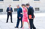 Queen Letizia of Spain meets with Directors of Instituto Cervantes in Escorial Monastery.  July 23, 2019. (ALTERPHOTOS/Francis Gonzalez)