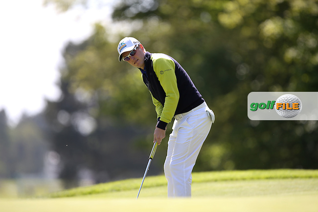 Matt FORD (ENG) during Round One of the 2015 BMW PGA Championship over the West Course at Wentworth, Virginia Water, London. 21/05/2015Picture David Lloyd, www.golffile.ie.