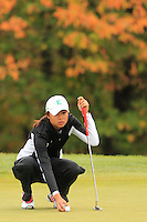 Eastern Michigan University Women's Golf compete in the MAC Preview. October 12, 2010