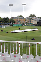 General view of the ground ahead of Essex CCC vs Yorkshire CCC, Specsavers County Championship Division 1 Cricket at The Cloudfm County Ground on 9th July 2019