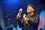 CORAL GABLES, FL - AUGUST 27: Singer & actor Ruben Blades performs during 'Caminando, Adios Y Gracias concert' at Bank United Center on August 27, 2016 in Coral Gables, Florida. ( Photo by Johnny Louis / jlnphotography.com )