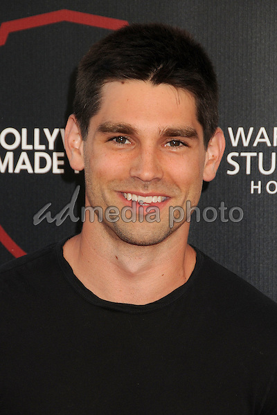 14 July 2015 - Burbank, California - Justin Gaston. Warner Bros. Studio Tour Stage 48: Script to Screen Launch Event held at Warner Bros. Studios. Photo Credit: Byron Purvis/AdMedia