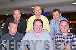 NIGHT AT THE DOGS: T.J. O'Mahony, Listowel celebrating his 40th birthday with a Night at the Dogs at the Kingdom Greyhound Stadium on Saturday seated l-r: Padraig Buckley, T.J. O'Mahony and Nick Mahony. Back l-r: Declan Molyneaux, John Barrett and Henry Buckley.