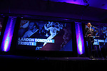 15 January 2015: MLS Commissioner Don Garber makes some introductory remarks. The Major League Soccer honored Landon Donovan by renaming their league Most Valuable Player Award after him in a tribute held at the Pennsylvania Convention Center in Philadelphia, Pennsylvania.