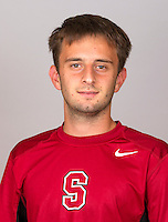 Anthony Tsodikov,  with the Stanford Men's Tennis Team. Photo taken on Monday, September 23, 2013.