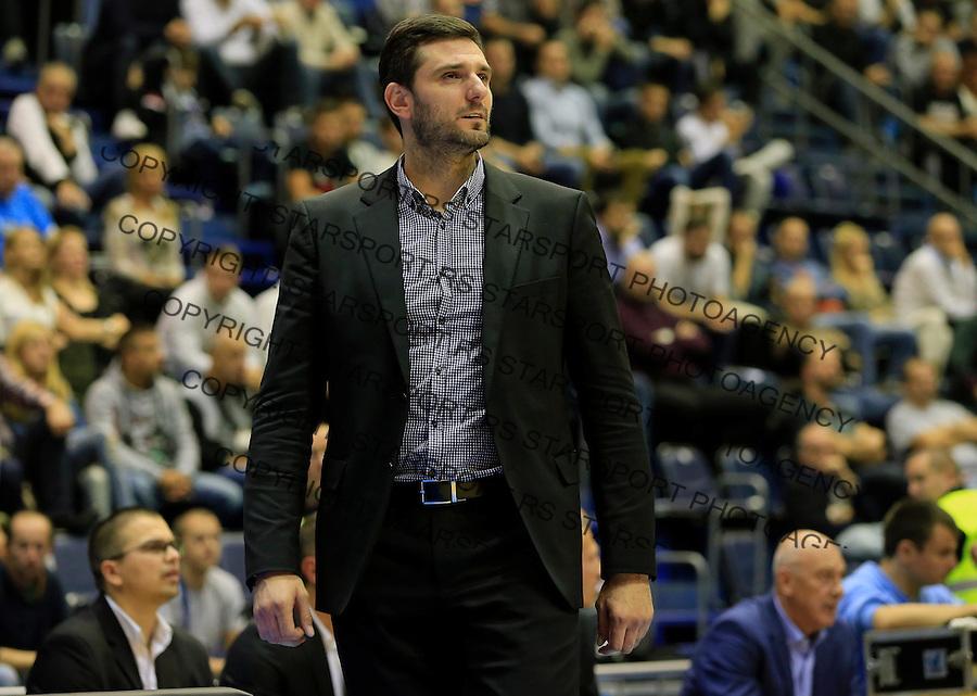 Kosarka ABA League season 2015-2016<br /> Partizan v Sutjeska (Niksic)<br /> Head coach Petar Bozic<br /> Beograd, 13.10.2015.<br /> foto: Srdjan Stevanovic/Starsportphoto&copy;