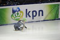SCHAATSEN: DORDRECHT: Sportboulevard, Korean Air ISU World Cup Finale, 11-02-2012, Victor An RUS (71), val, ©foto: Martin de Jong