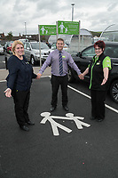 Long Service Colleaugues from left are Bernadette Drummand, Andrew Dean and Tracy Price of ASDA Langley Mill