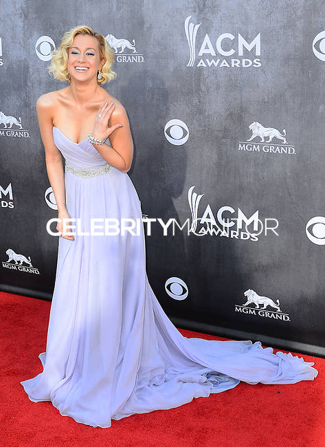 LAS VEGAS, NV, USA - APRIL 06: Kellie Pickler at the 49th Annual Academy Of Country Music Awards held at the MGM Grand Garden Arena on April 6, 2014 in Las Vegas, Nevada, United States. (Photo by Celebrity Monitor)