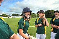 Heaton Intermediate School during the National Primary School Cricket Cup at the Bert Sutcliffe Oval, Lincoln University, Christchurch, New Zealand. Saturday 25 November 2017. Photo: Martin Hunter/www.bwmedia.co.nz