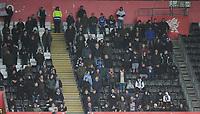 Bolton Wanderers fans enjoy the pre-match atmosphere <br /> <br /> Photographer Kevin Barnes/CameraSport<br /> <br /> The EFL Sky Bet Championship - Swansea City v Bolton Wanderers - Saturday 2nd March 2019 - Liberty Stadium - Swansea<br /> <br /> World Copyright © 2019 CameraSport. All rights reserved. 43 Linden Ave. Countesthorpe. Leicester. England. LE8 5PG - Tel: +44 (0) 116 277 4147 - admin@camerasport.com - www.camerasport.com