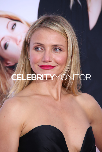 """WESTWOOD, LOS ANGELES, CA, USA - APRIL 21: Actress Cameron Diaz arrives at the Los Angeles Premiere Of Twentieth Century Fox's """"The Other Woman"""" held at the Regency Village Theatre on April 21, 2014 in Westwood, Los Angeles, California, United States. (Photo by David Acosta/Celebrity Monitor)"""
