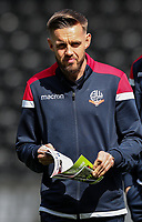 Bolton Wanderers' Craig Noone pictured before the match <br /> <br /> Photographer Andrew Kearns/CameraSport<br /> <br /> The EFL Sky Bet Championship - Derby County v Bolton Wanderers - Saturday 13th April 2019 - Pride Park - Derby<br /> <br /> World Copyright &copy; 2019 CameraSport. All rights reserved. 43 Linden Ave. Countesthorpe. Leicester. England. LE8 5PG - Tel: +44 (0) 116 277 4147 - admin@camerasport.com - www.camerasport.com