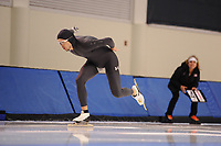 SPEEDSKATING: SALT LAKE CITY: 06-12-2017, Utah Olympic Oval, ISU World Cup, training, Jeffrey Swider-Peltz (USA), photo Martin de Jong