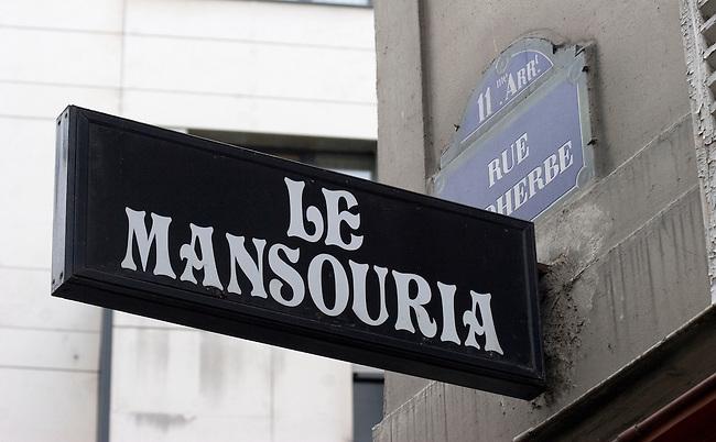 Exterior, Le Mansouria Restaurant, Paris, France, Europe