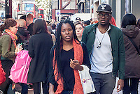 Oxford Street; London; Oct 2014;