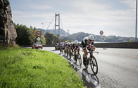 Team Sunweb on their way to victory<br /> <br /> Women's Team Time Trial<br /> <br /> UCI 2017 Road World Championships - Bergen/Norway
