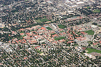 University of Colorado at Boulder campus aerial
