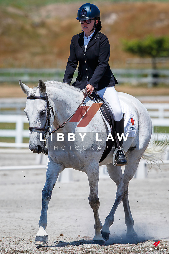 Class 953 Fiber Fresh Para-Equestrian (Q). 2020 NZL-Equestrian Entries NZ Youth Dressage Festival. Saturday 25 January. Copyright Photo: Libby Law Photography