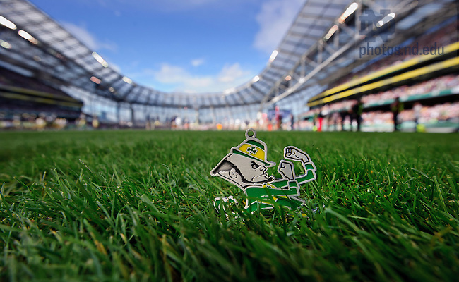 Aug. 29, 2012; 2012 Shamrock Classic, Aviva Stadium, Dublin, Ireland...Photo by Matt Cashore/University of Notre Dame