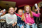 l-r  Sarah Barrett, Emma Tuohy and Sarah O'Connor. enjoying the Na Gaeil Clubhouse Annual Race Night on Saturday