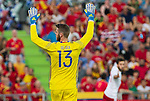 Spain's David De Gea during the up match between Spain and Georgia before the Uefa Euro 2016.  Jun 07,2016. (ALTERPHOTOS/Rodrigo Jimenez)