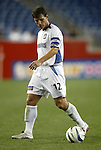 04 September 2004: Jeff Agoos during the second half. The San Jose Earthquakes defeated the New England Revolution 1-0 at Gillette Stadium in Foxboro, MA during a regular season Major League Soccer game..