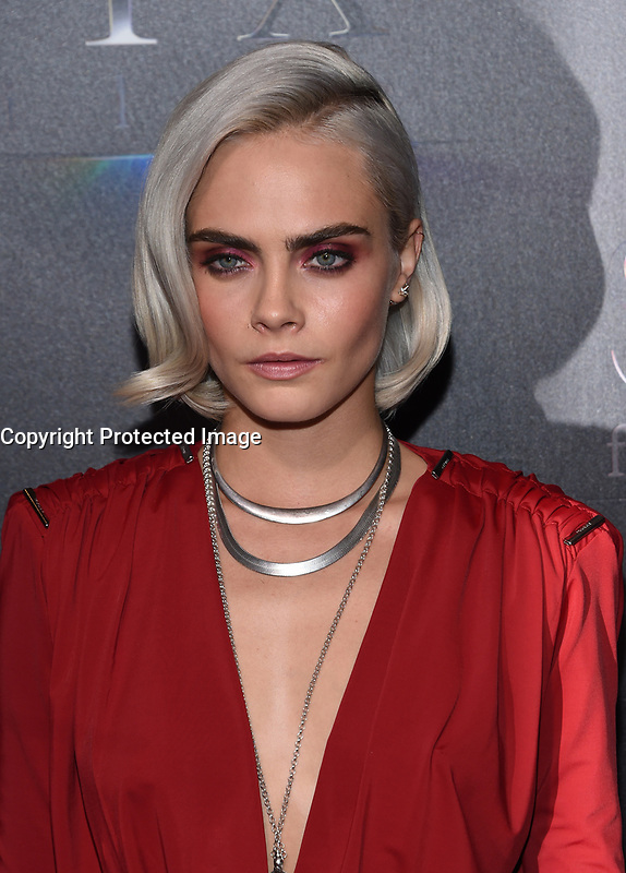 Cara Delevingne @ the photocall for STX Films 'The State of the Industry: Past, Present and Future' held @ The Colosseum at Caesars Palace.<br /> March 28, 2017 , Las Vegas, USA. # CINEMA CON 2017 - PHOTOCALL 'THE STATE OF THE INDUSTRY'
