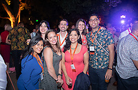 Alumni, family and friends have fun at the Soiree on the Quad during Alumni Reunion Weekend on Saturday, June 22, 2019 on the campus of Occidental College. This year was for the classes of 1969, 1974, 1979, 1984, 1989, 1994, 1999, 2004, 2009 & 2014.<br />