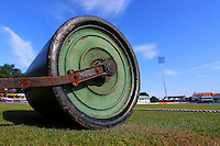 The groundsman's roller ahead of Leicestershire CCC vs Essex CCC, Specsavers County Championship Division 2 Cricket at the Fischer County Ground, Grace Road on 24th August 2016