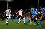 Martyn Woolford of Sheffield Utd has a shot on goal - English League One - Scunthorpe Utd vs Sheffield Utd - Glandford Park Stadium - Scunthorpe - England - 19th December 2015 - Pic Simon Bellis/Sportimage