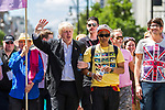 © Joel Goodman - 07973 332324 - all rights reserved . 03/07/2010 . London , UK . BORIS JOHNSON at the front of the march . Annual London Pride march and demonstration through the centre of London . Photo credit : Joel Goodman