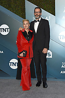 LOS ANGELES - JAN 19:  Patricia Arquette, Eric White at the 26th Screen Actors Guild Awards at the Shrine Auditorium on January 19, 2020 in Los Angeles, CA