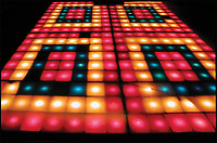 BNPS.co.uk (01202 558833)<br /> Pic: ProfilesInHistory/BNPS<br /> <br /> Light Fever? - The ultimate addition for any party pad - the actual illuminated dance floor from the movie blockbuster Saturday Night Fever.<br /> <br /> The iconic illuminating dance floor from Saturday Night Fever has emerged for auction and is tipped to sell for &pound;1.1million.<br /> <br /> John Travolta memorably donned a white suit and strutted his stuff on this custom-built dance floor 40 years ago in a film which ignited the disco craze.<br /> <br /> Director John Badham found a small nightclub in Brooklyn, New York, and had the legendary dance floor installed for the film which would light up red, blue and yellow in rhythm with the music.<br /> <br /> It remained in place at the Odyssey nightclub - where the film was largely set - until it closed in 2005 and it was then purchased by concert promoter Vito Bruno who worked as a doorman at the club during the 1970s.<br /> <br /> He has now decided to put the piece of film history on the market and it is set to get bidders' pulses racing at auction in Los Angeles, USA, later this month with its sale estimate of $1,500,000.