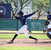 Cristofher Paniagua participates in the MLB International Showcase at Salt River Fields on November 12-14, 2019 in Scottsdale, Arizona (Bill Mitchell)