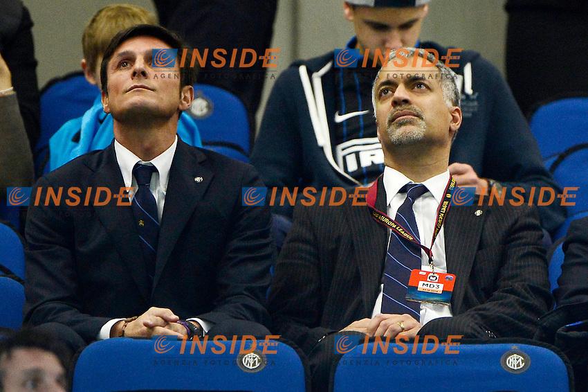 Javier Zanetti, Michael Bolingbroke Inter<br /> Milano 23-10-2014 Stadio Giuseppe Meazza - Football Calcio Europa League Inter - Saint Etienne. Foto Giuseppe Celeste / Insidefoto