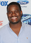 C.J. Harris arriving at the 'American Idol XIII Finalists Party' held at Fig and Olive in Los Angeles on February 20, 2014
