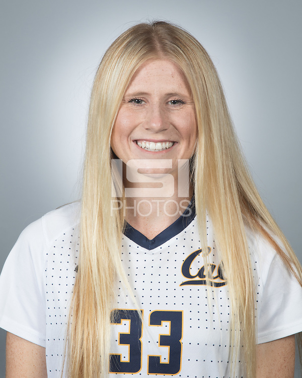 Berkeley, Ca - August 7, 2016: Cal Womens Soccer 2016 Portraits.