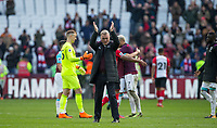 West Ham United Manager David Moyes at full time during the EPL - Premier League match between West Ham United and Southampton at the Olympic Park, London, England on 31 March 2018. Photo by Andy Rowland.