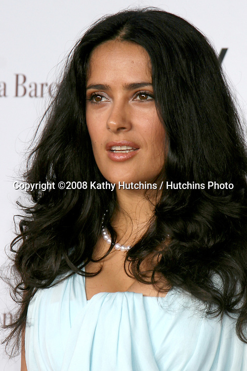 "Salma Hayek  arriving at the LA Premiere of ""Vicky Cristina Barcelona"" at the Village Theater in Westwood, CA.August 4, 2008.©2008 Kathy Hutchins / Hutchins Photo"
