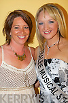 Maeve Keegan, Jackie O'Mahony the 2008 Kerry Rose Selection in The Earl of Desmond Hotel on Saturday night...