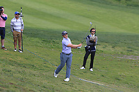 Paul Dunne (IRL) in the rough on the 10th fairway during Round 3 of the Open de Espana 2018 at Centro Nacional de Golf on Saturday 14th April 2018.<br /> Picture:  Thos Caffrey / www.golffile.ie<br /> <br /> All photo usage must carry mandatory copyright credit (&copy; Golffile | Thos Caffrey)