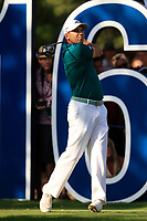 Sergio Garcia (ESP) on the 16th tee during the final round of the DP World Tour Championship, Jumeirah Golf Estates, Dubai, United Arab Emirates. 18/11/2018<br /> Picture: Golffile | Fran Caffrey<br /> <br /> <br /> All photo usage must carry mandatory copyright credit (© Golffile | Fran Caffrey)