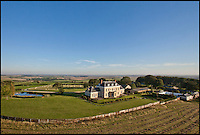 BNPS.co.uk (01202 558833)<br /> Pic: KnightFrank/BNPS<br /> <br /> ***Please use full byline***<br /> <br /> Highdon House, Dorset, yours for &pound;4.5million.<br /> <br /> To the Manor Reborn...<br /> <br /> Britain's super rich are turning their backs on the decaying stately piles beloved by the aristocracy and building brand new modern mansions on their country estates.<br /> <br /> Rather than investing in the leaky roofs and draughty windows of days gone by, modern millionaires are choosing to build plush pads from the ground up.<br /> <br /> And they are filling their dream homes with every conceivable luxury without the need for a bottomless sink fund to pay for the costly upkeep of older houses.<br /> <br /> Estate agents specialising in top-end properties have reported a clear swing from grand Victorian manor houses to state of the art modern homes kitted out with all the mod cons.<br /> <br /> The multi-million pounds properties have been popping up across the country over the past few years - and are now being heralded as the stately homes of the future.