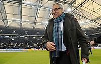 FUSSBALL   1. BUNDESLIGA   SAISON 2011/2012   22. SPIELTAG FC Schalke 04 - VfL Wolfsburg         19.02.2012 Trainer Felix Magath (VfL Wolfsburg) zu Gast in der Arena auf Schalke