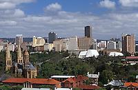 Océanie/Australie/South Australia/Australie Méridionale/Adelaïde: La cathédrale saint-Peters et les gratte ciel