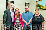 Nano Nagle Social : Attending the Nano Nagle School Social, Listowel at the Listowel Arms Hotel on Friday night last were Fozzy & Tara Foley, Listowel & Patrick & Mary Dooley, Tralee.