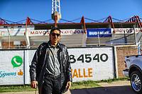 Isidro Marquez coach de pitcheo arribando al estadio Manuel &uml;Ciclon&uml;  Echeverria<br /> <br /> Aspectos previos al partido de beisbol numero 6 de la serie final entre Mayos de Navojoa vs Tomateros de Culiacan celebrado en Estadio Manuel &uml;Ciclon&uml;  Echeverria. Temporada 2018 de la Liga Mexicana del Pacifico. Navojoa Sonora a  27 enero 2018.  <br /> (Foto:Luis Gutierrez/NortePhoto.com)